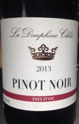 La Dauphine Chloe Pinot Noir